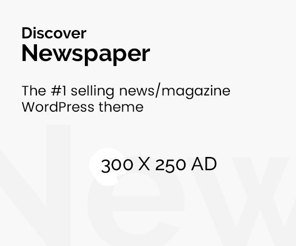Newspaper WordPress Theme